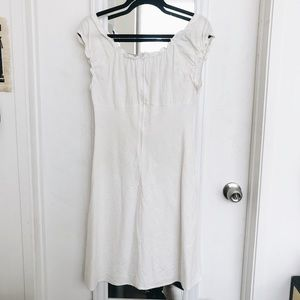 Vintage Dresses - FINAL FLASH- The Summer Birkin Linen Mini
